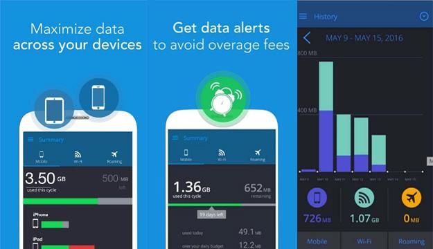 تطبيق سيساعدك على التحكم و مراقبة استهلاك بيانات الانترنت