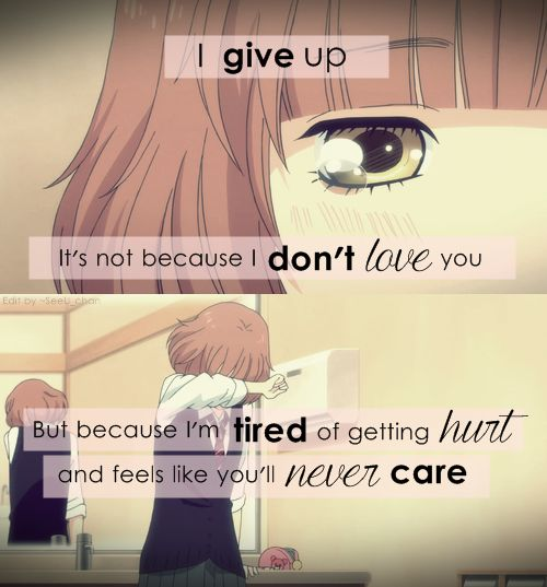 Crying Girl Wallpapers With Quotes Sad Anime Quotes Anime Is Manga