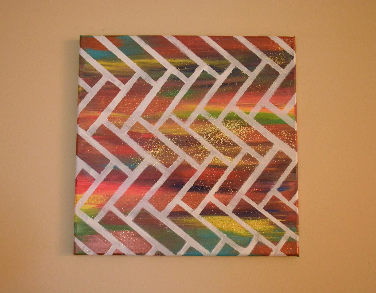 Fashionmoksha easy abstract canvas painting for Easy to do canvas art