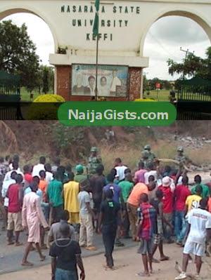 nasarawa state university student riot