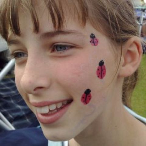 Simple Christian Face Painting Designs