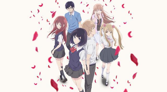 Kuzu no Honkai - Anime Romance School 2017 Terbaik