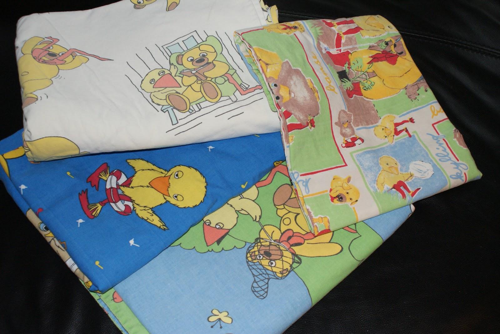 bamse og kylling sengetøj MadebyVera: Bamse og kylling sengetøj bamse og kylling sengetøj