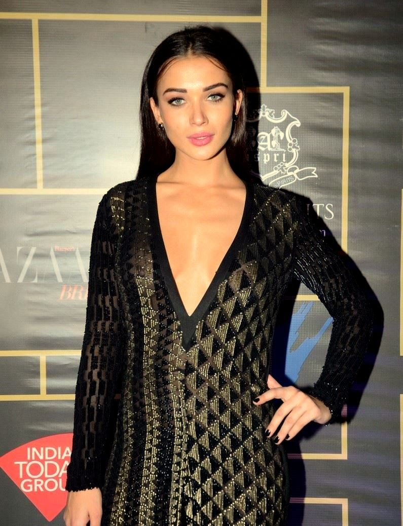 Amy Jackson at Harpers Bazzar