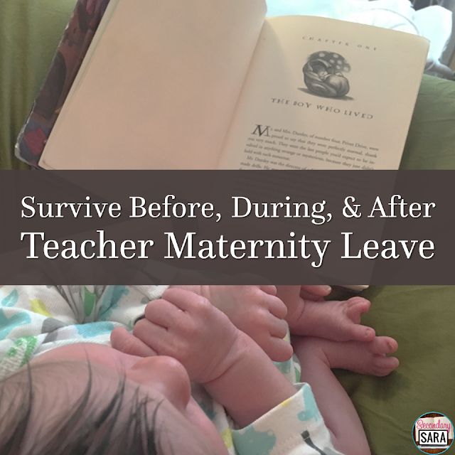 Being a teacher is tough, and what's even tougher is preparing for your maternity leave! Having gone through this process myself, I'm sharing ALL of my tips and suggestions for you to survive before, during, and after teacher maternity leave in this post.
