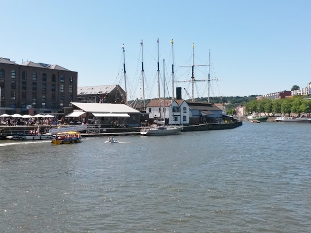 Bristol Harbour SS Great Britain