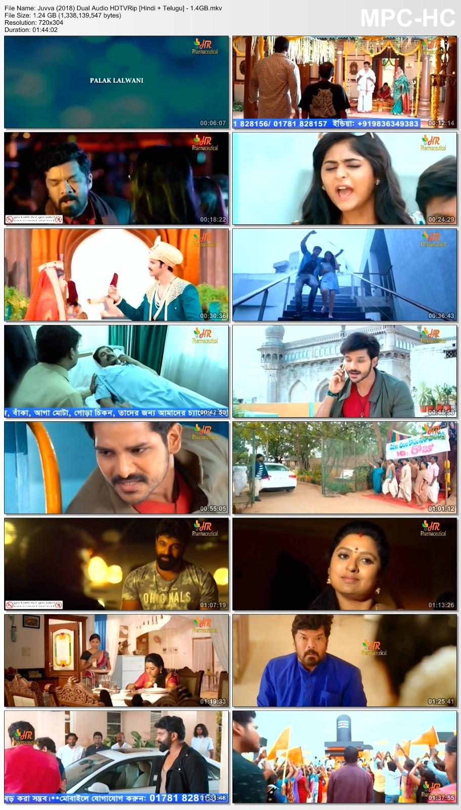 Juvva (Ishqbazz Gunda) (2018) 480p Dual Audio HDTVRip [Hindi + Telugu] – 1.4GB Desirehub
