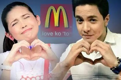 AlDub lands first TV commercial via McDonald's | AroundTheBuzzPh.com