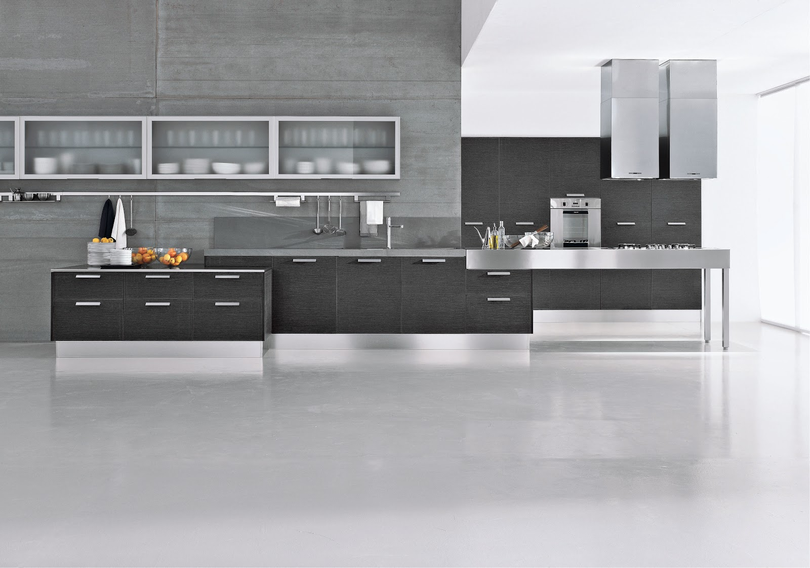 My-modern: Eco-friendly Kitchen Cabinets: Italian-style