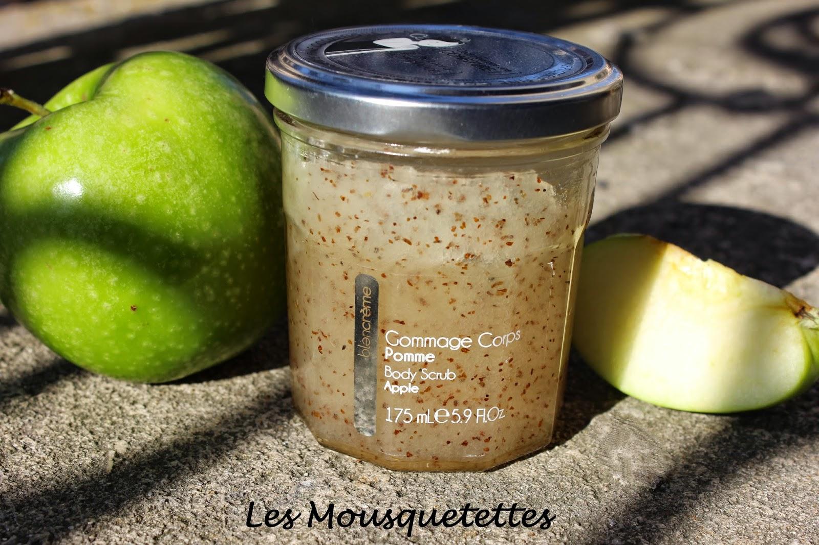 Gommage Corps Pomme Blancrème - Les Mousquetettes©