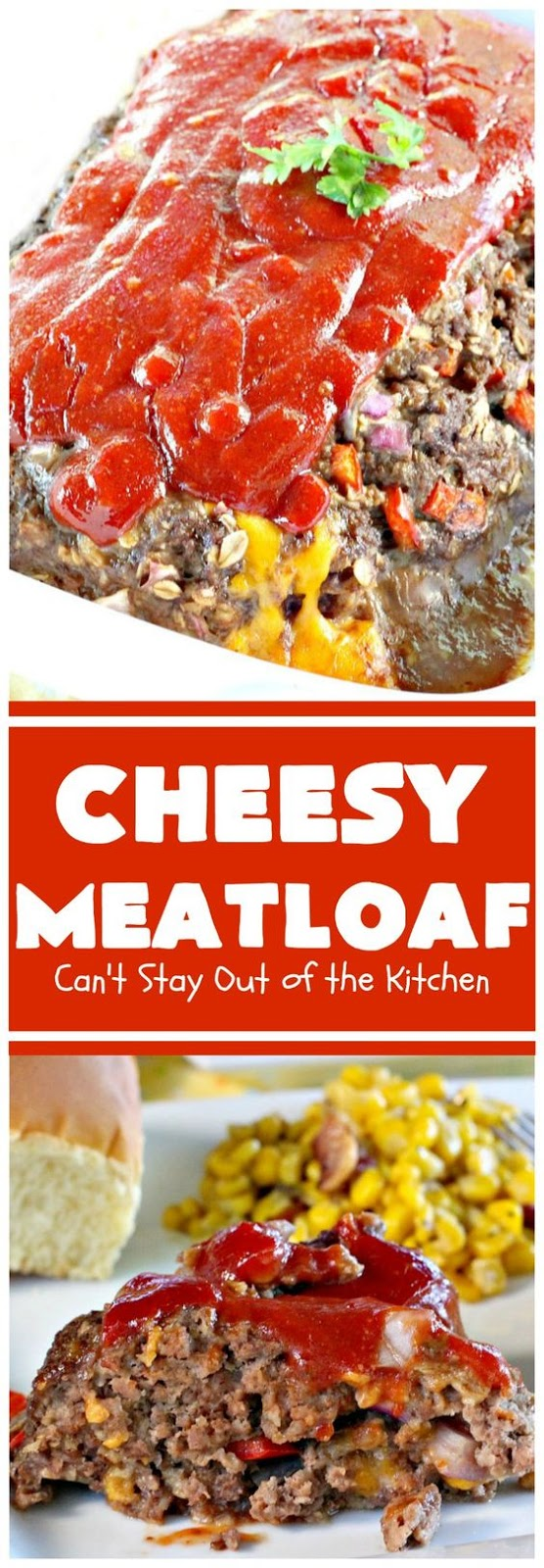 DELICIOUS CHEESY MEATLOAF