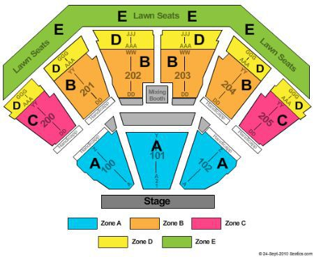 gexa energy pavilion seating - Starplex Pavilion Dallas Tickets Schedule Seating Chart Directions