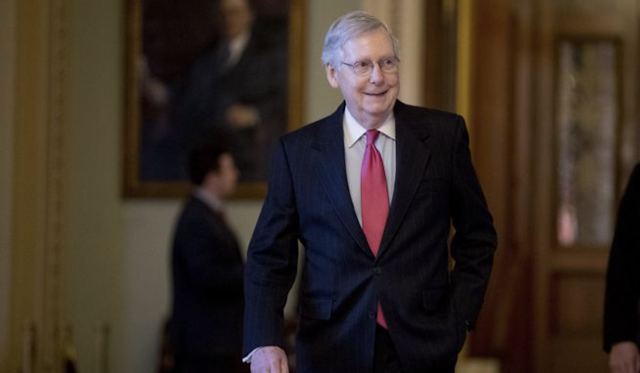 Government shutdown: How much longer can Mitch McConnell sit it out?