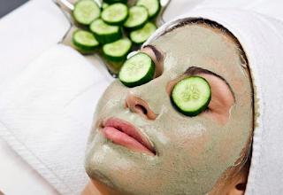 masker mentimun untuk mengatasi wajah berjerawat