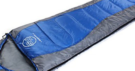 3 Season Mummy Sleeping Bag with Waterproof Shell Review