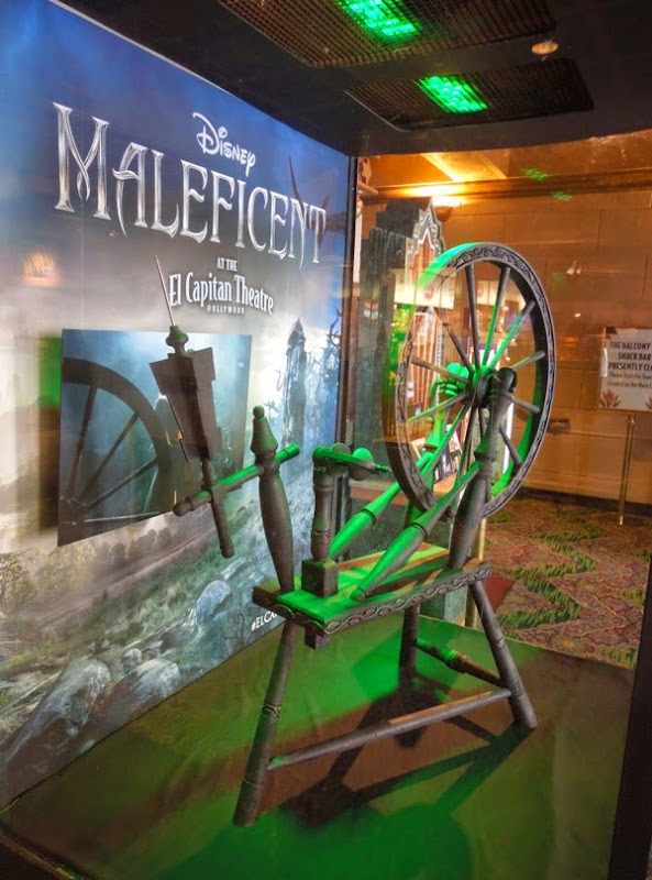 Maleficent spinning wheel movie prop