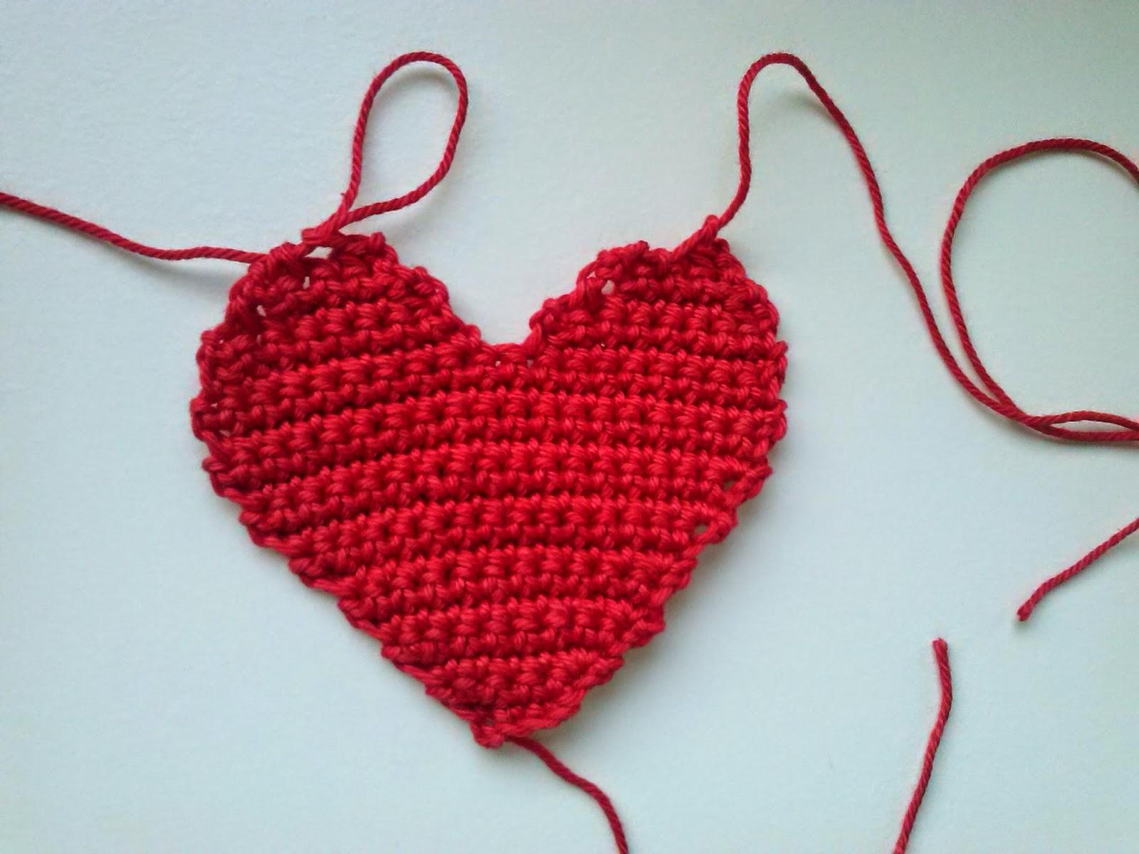 Meermasche Kostenlose Häkelanleitung Herz