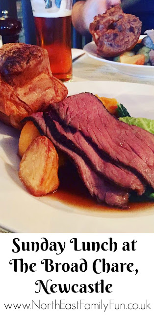 Sunday Lunch at The Broad Chare Pub, Newcastle Quayside | A Review by North East Family Fun