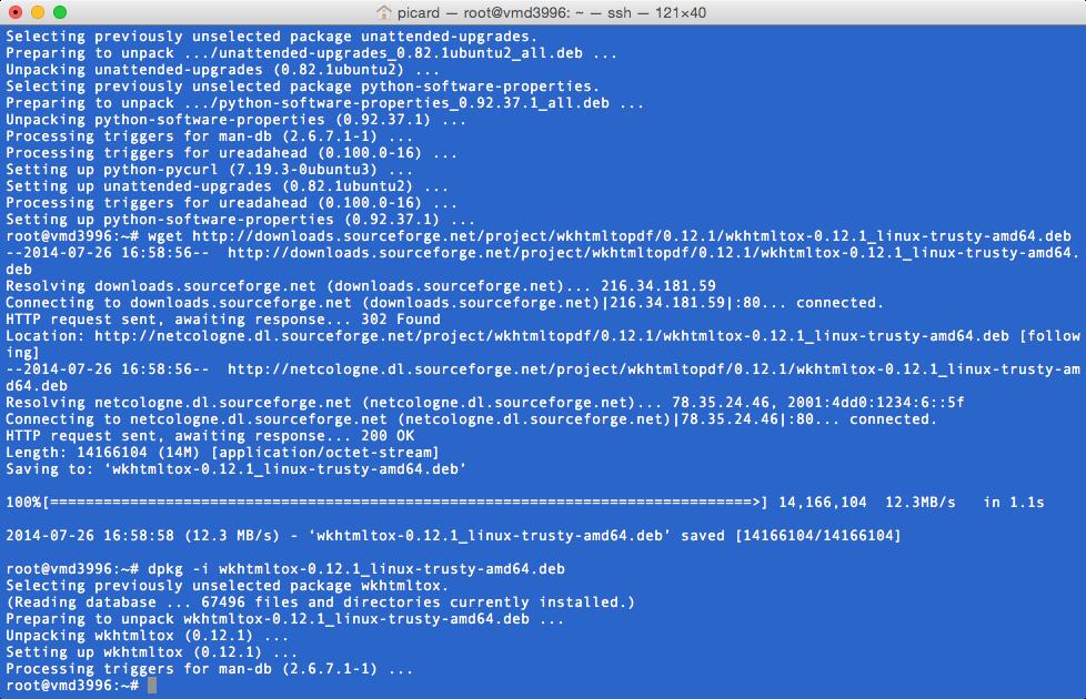 Neues von der Softwareinsel: Installation odoo (OpenERP