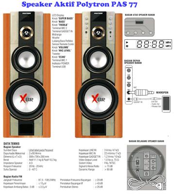 Harga-Speaker-Aktif-Polytron-PAS-77-XBR