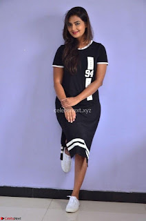 Actress Neha Deshpandey in Black Short Dress ~  Exclusive 003.jpg