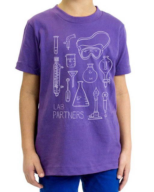 Lab Partners Kids Science Shirt Etsy