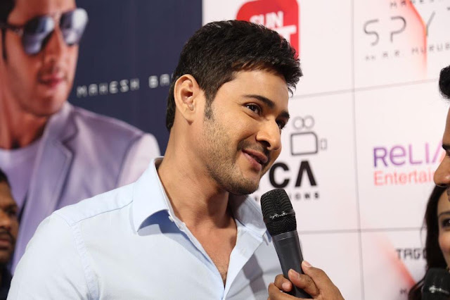 Mahesh Babu Stills at Spyder Movie Audio Launch in Chennai
