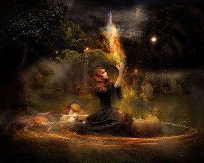 rituel magie perdre poids