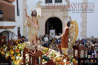 Cartel de la Semana Santa de Aguilar de la Frontera (Córdoba) 2019