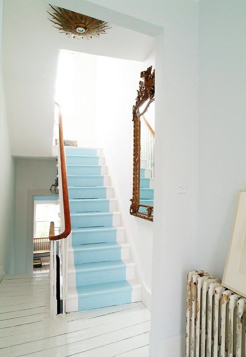 Dishfunctional Designs: Intimate Stairs: Painted ...