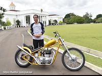 Wow, Jokowi Membeli Motor Seharga Rp 140 Juta