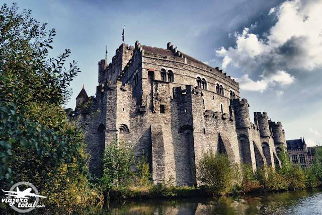 Gante - Ghent - Gent - Bélgica - Belgium - Castillo