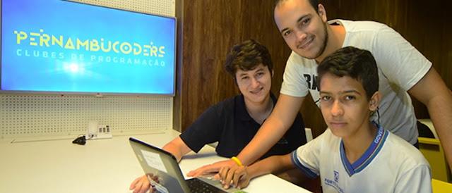 1º passo para aulas de programação em escolas brasileiras está sendo dado em Recife.