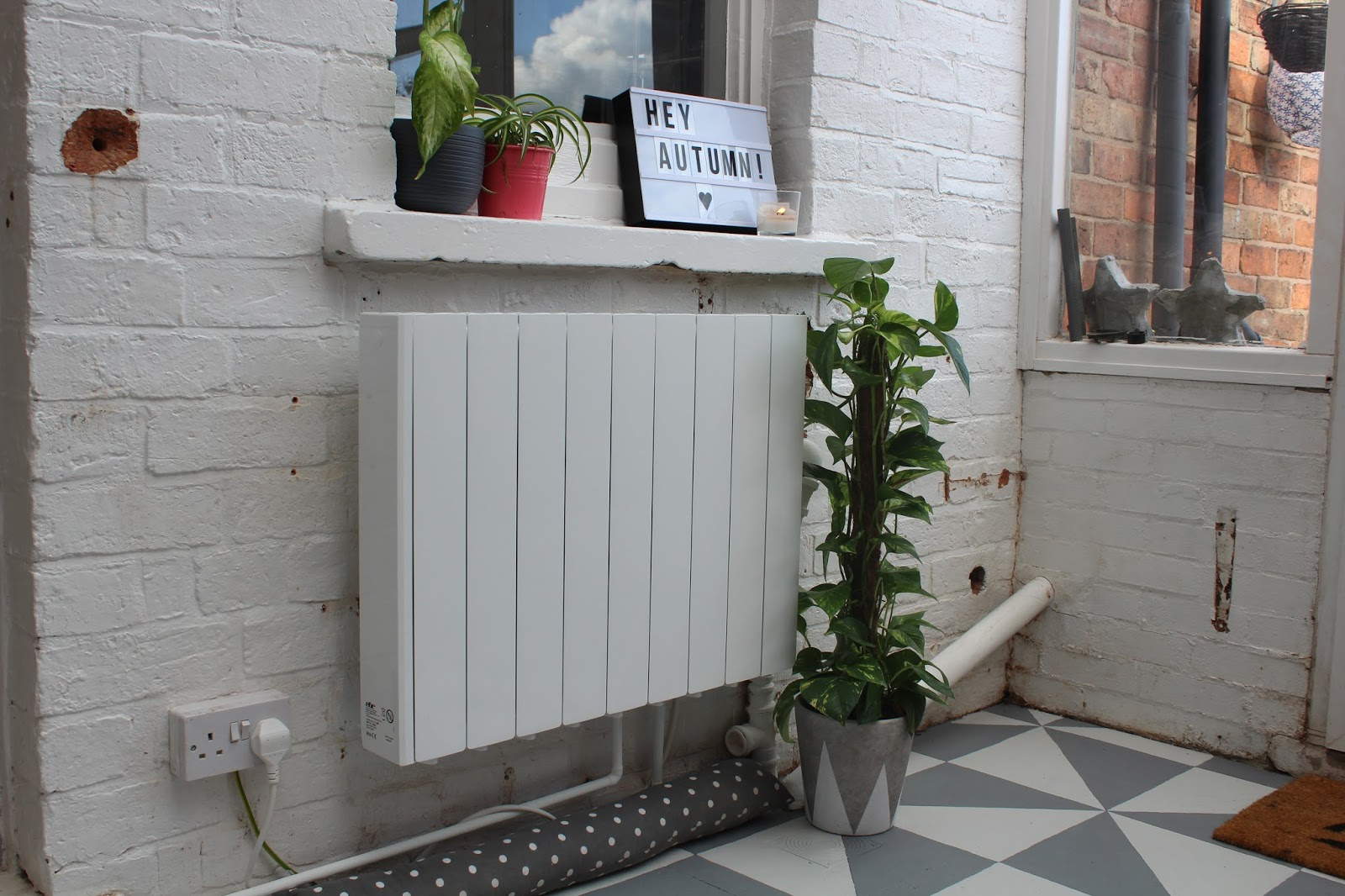 Electric Radiator for Conservatory