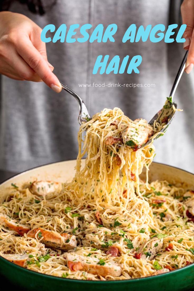 Caesar Angel Hair - food-drink-recipes.com