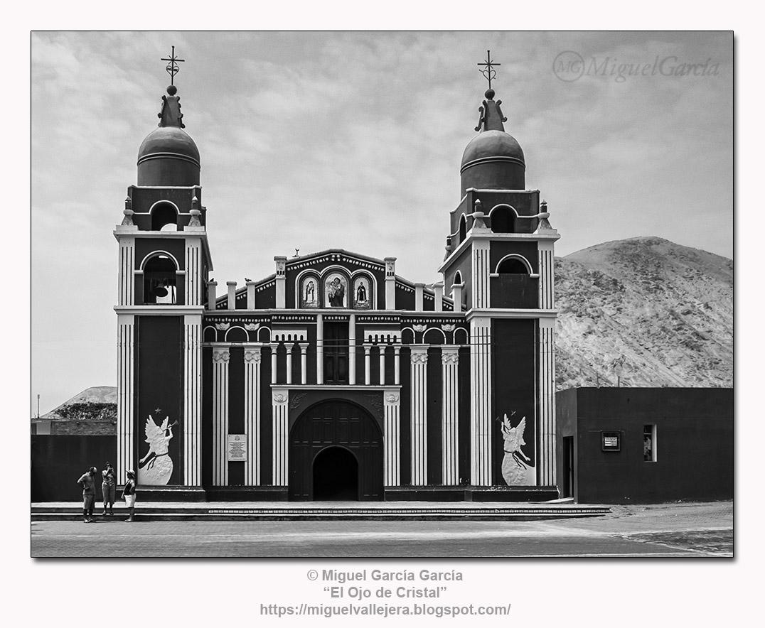 Cieneguilla (Lima), Perú.- Iglesia de San José.