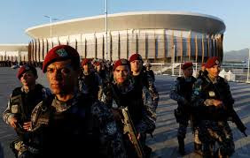 Brazil's Top Security Force at Summer Olympics 2016 Venues