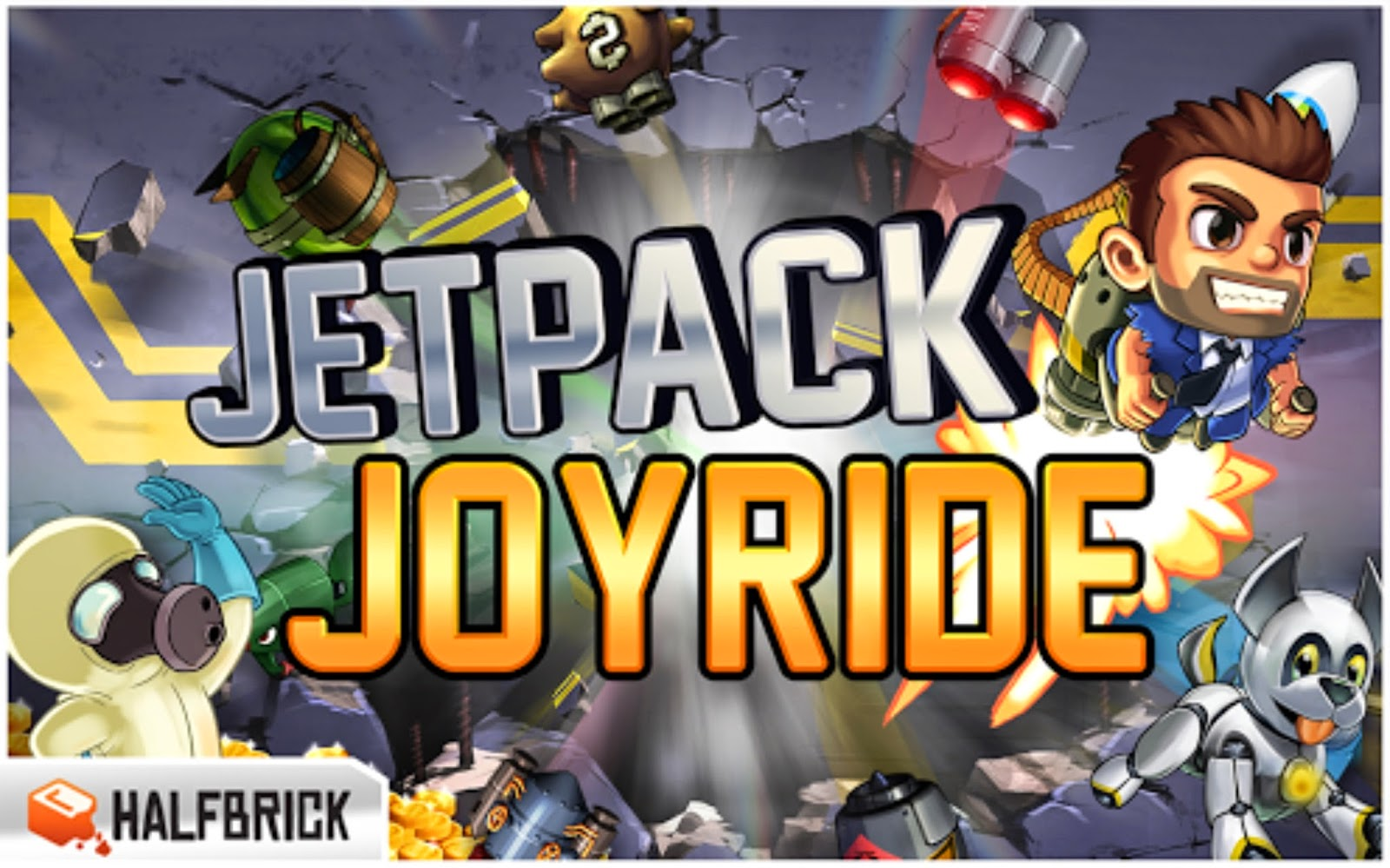 Jetpack Joyride Apk Android