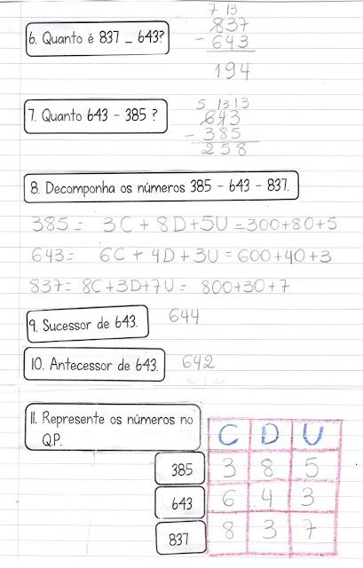 Scan0003 Caderninho de Matemática: Quanto vale? HABILIDADES BNCC (EF02MA01)  (EF02MA04)   (EF02MA06) (EF03MA01) (EF03MA02)