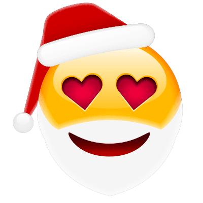 Loving Santa Emoji