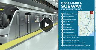 WATCH: Duterte Mega Manila Subway,sisimulan na ngayon 2020