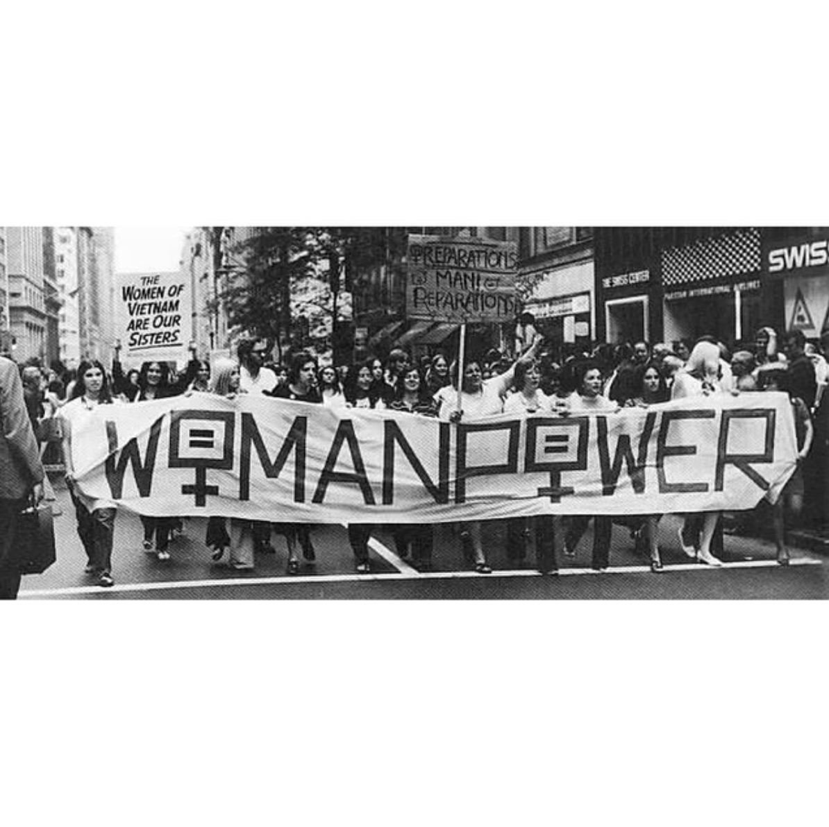Circle The Streets With Woman Power