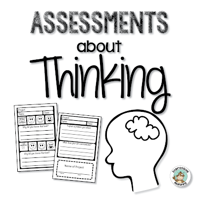 How to make assessments and rubrics that capture your students' thought process.