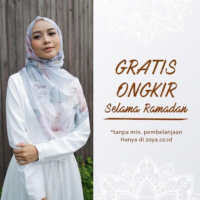 #Zoya - #Promo Gratis Ongkir Selama Belana & Tanpa Minimum Belanjd (s.d 29 Mei 2019)