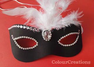 Maschera di carnevale con fommy