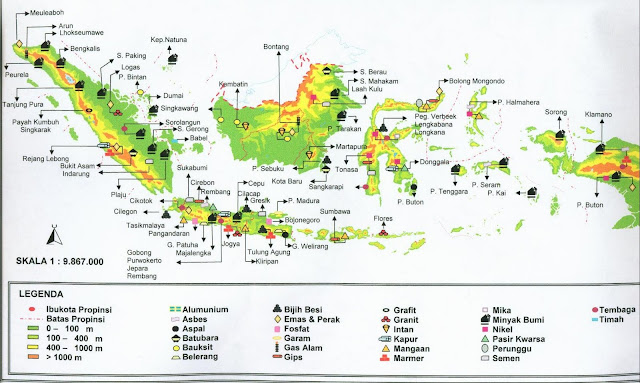 Persebaran Sumber Daya Alam di Indonesia dan Pemanfaatannya