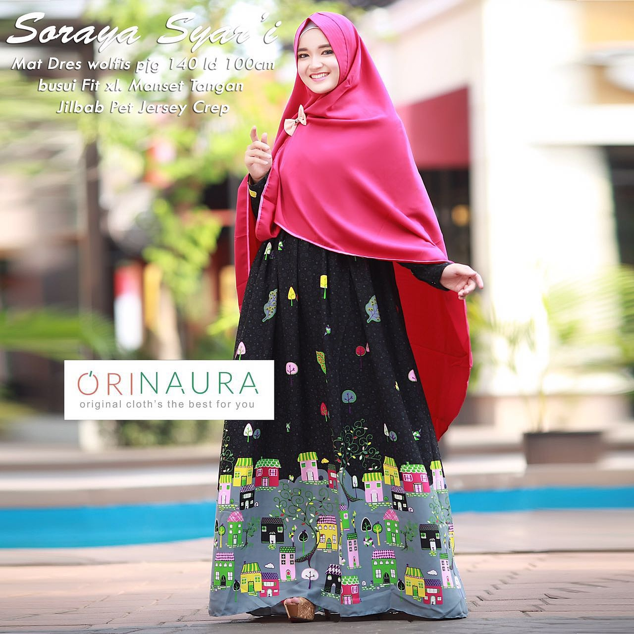 Jual Baju Hijab Couple Ibu Dan Anak Soraya Couple By Ori