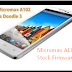 Micromax A102 Firmware Flash File Download (Stock ROM) V4.11.07.14