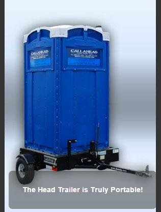 The Blue Head Trailer Bathroom