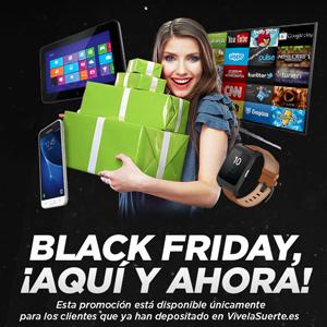vivelasuerte promocion Black Friday 24-26 noviembre
